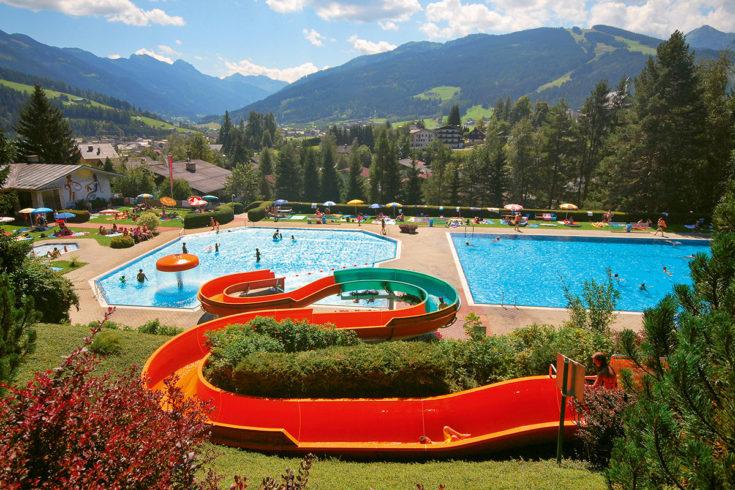 Alpenfreibad Radstadt - Ausflugsziel im Salzburger Land