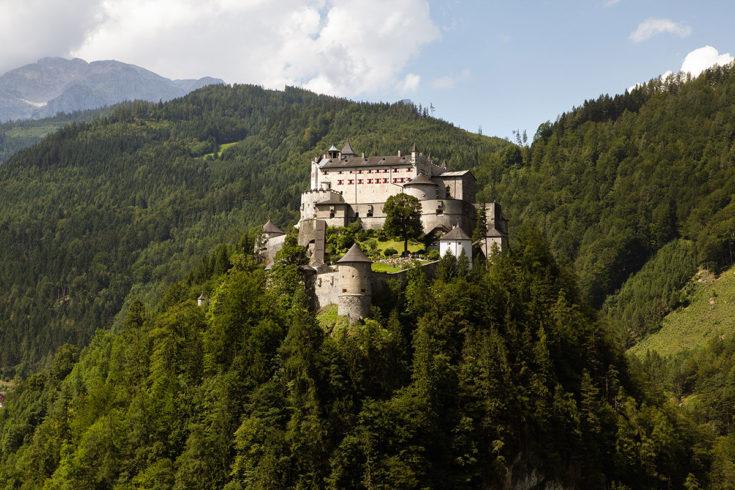 Burg Hohenwerfen - Ausflugsziel im Salzburger Land