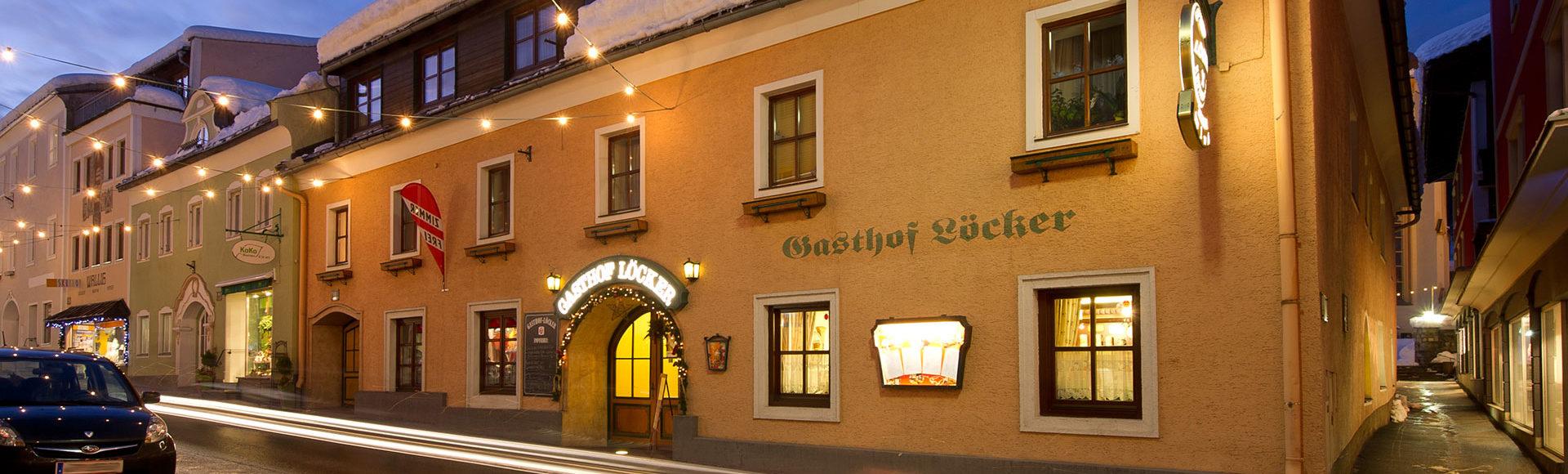 Gasthof Löcker - Zimmer & Ferienwohnungen in Radstadt, Salzburg