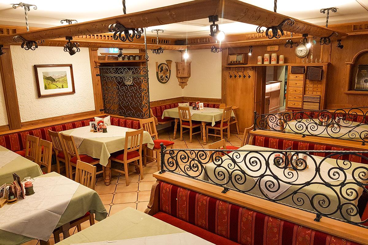 Ambiente im Restaurant in Radstadt, Gasthof Löcker