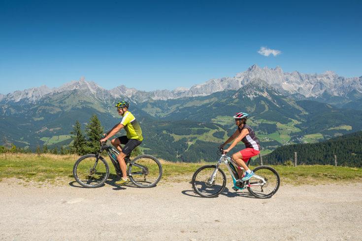 Mountainbiken - Sommerurlaub in Radstadt, Salzburg