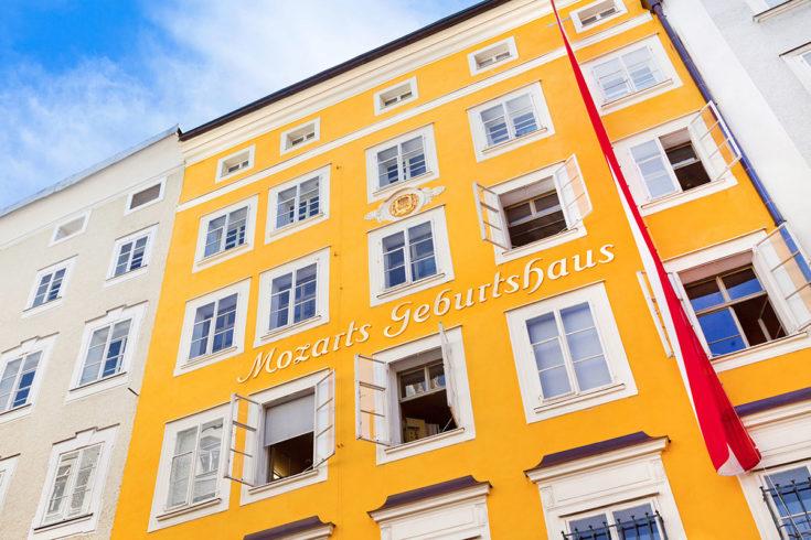 Mozart Geburtshaus - Ausflugsziel im Salzburger Land