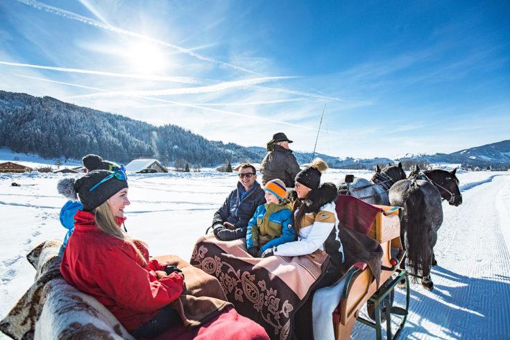 Pferdeschlittenfahrten - Winterurlaub in Radstadt, Salzburg