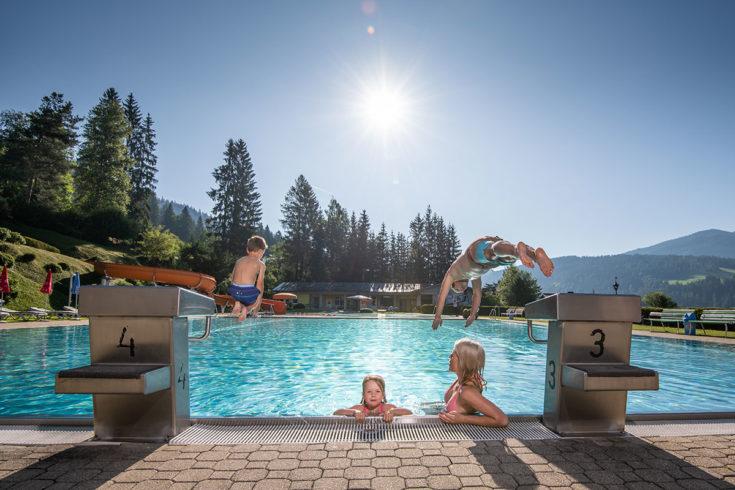 Schwimmen - Sommerurlaub in Radstadt, Salzburg