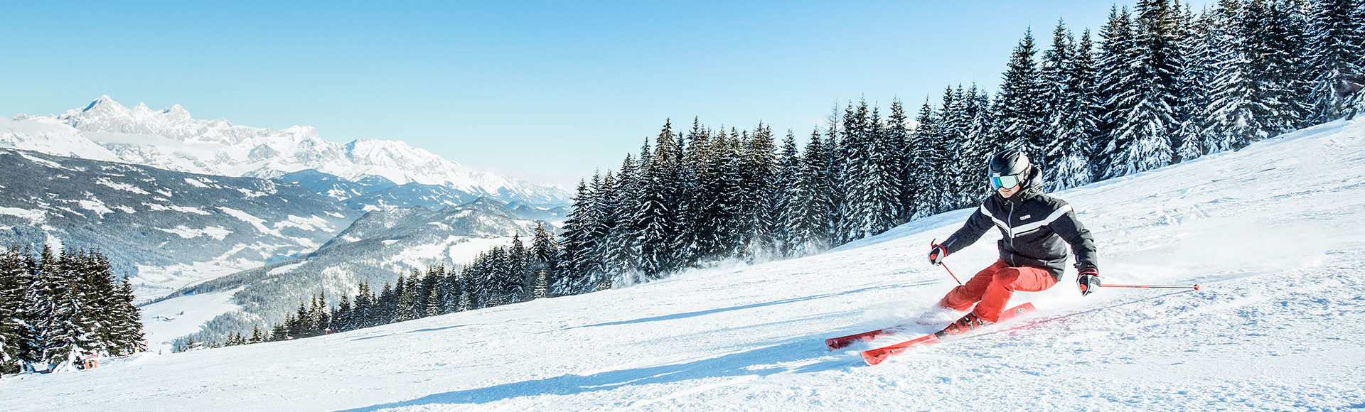 Skifahren im Skiurlaub in Radstadt, Ski amadé
