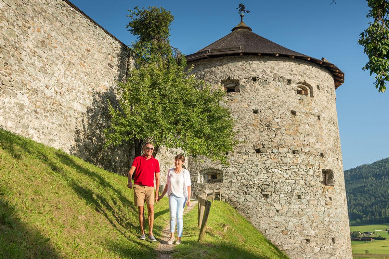 Spaziergang - Sommerurlaub in Radstadt, Salzburg